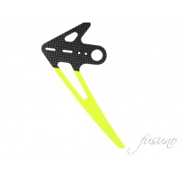 FUSUNO CF Vertical Fin Goblin 380 (1.5mm) - Neon Yellow