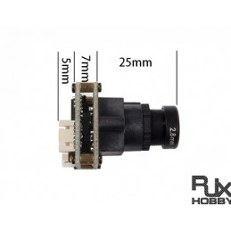 RJX FPV Camera(SONY1200TVL, IC:Sony225+3MP 2.8MM 1/2.7') DRONE