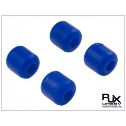 RJX Landing Skid Rubber ( dia7mm) Blue