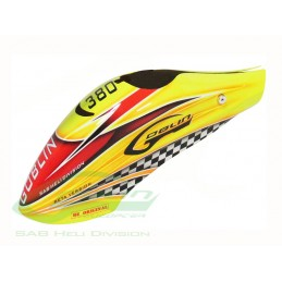 Canomod Airbrush Canopy Yellow/Orange - Goblin 380