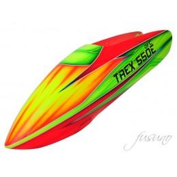 FUSUNO Rocket Fiberglass Airbrush Canopy Trex 550 DFC/ Trex 550 V1/V