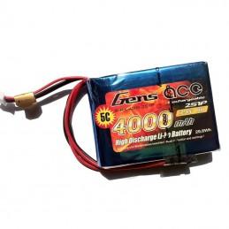 GENS ACE BATTERIE LIPO 2S1P 3500MAH 7.4V - RX