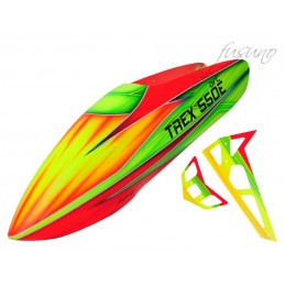FUSUNO Rocket Airbrush Fiberglass Canopy Trex 550 DFC/ Trex 550 V1/