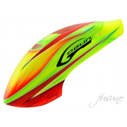 Fusuno Rocket Airbrush Fiberglass Canopy Goblin 500