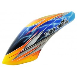 FUSUNO Tropic Thunder Airbrush Fiberglass canopy Trex 700E Pro DF