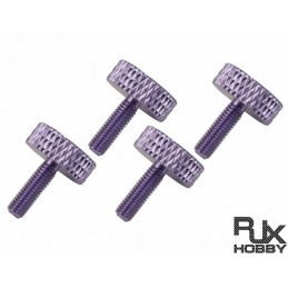 RJX M3 Canopy ThumbScrew (Pulpe)