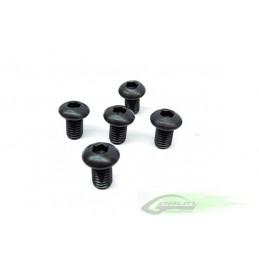DIN 12.9 Button Head Socket Cap M4x6 (5pcs) - Goblin 630/700/770