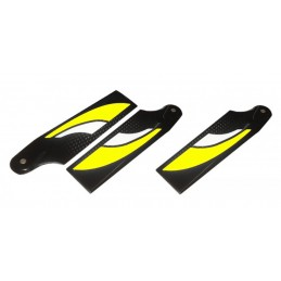 3 Tail Blade Yellow 115 MM