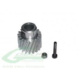Aluminum Pinion Z18 - Goblin 500