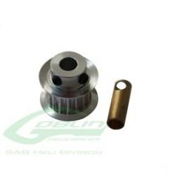 Aluminum Motor Pulley Z18 - Goblin 500/570