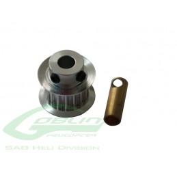 Aluminum Motor Pulley Z21 - Goblin 500/570