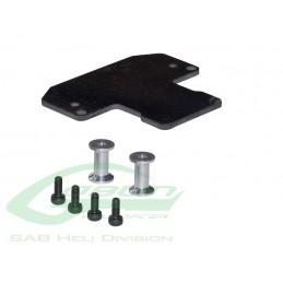 Carbon Fiber Sensor Support - Goblin 500/570