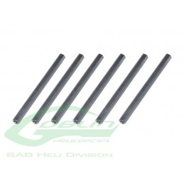 Aluminium Spacer 54mm (6pcs) - Goblin 500/570