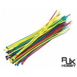 HA0709M - RILSAN RJX Cable Binder ( Mix Color) 3 x150mm x 40pcs