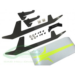 H0652-S - Carbon Fiber Landing Gear Set