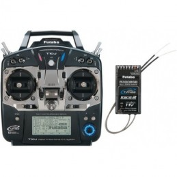 RADIOCOMMANDE FUTABA T10J + R3008SB MODE 1