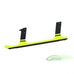 H0106-S - Low Profile Carbon Fiber landing gear (1pc) Yellow - Goblin 630/700/770