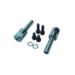H0141-S - CENTER BLADE GRIP STEEL ARMS DFC HEAD - Goblin 630/700