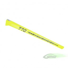 Carbon Fiber Tail Boom Yellow - Goblin 770