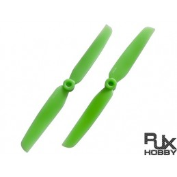 HELICE RJX ABS 6030 BLADES QUADCOPTER CW et CCW (GREEN)