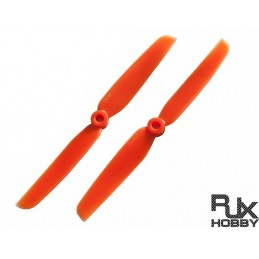 HELICE RJX ABS 6030 BLADES QUADCOPTER CW et CCW (ORANGE)