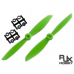HELICE RJX ABS 6045 BLADES QUADCOPTER CW et CCW (GREEN)