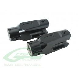 Aluminum Main Blade Grip Black Edition (New Design) - Goblin 700/770
