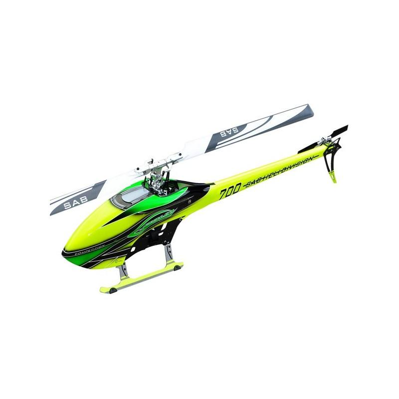SG703 - Goblin 700 Competition jaune/vert