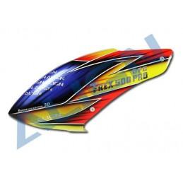 Bulle fibre peinte - T-rex 500E Pro