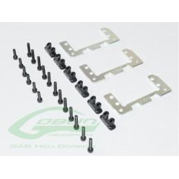 Aluminium 36mm Mini Servo Support - Goblin 500