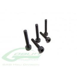 HC018-S - DIN 12.9 Socket Head Cap M2,5x6 (5pcs) - Goblin 500/570/630/700/770