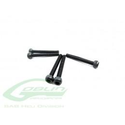 HC032-S - DIN 12.9 Socket Head Cap M2,5x6 (5pcs) - Goblin 500/570/630/700/770