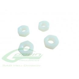 HC224-S - Ecrous Nylon M8 h6,5 - Goblin 500/570/630/700/770