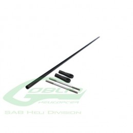 HC235-S - Carbon Fiber Tail push rod ¯4 x ¯2,5 x 596 - Goblin 500