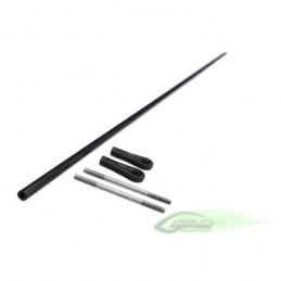 HC239-S - Carbon Fiber tail push rod diam.4 x diam.2,5 x 702 - Goblin 700