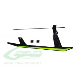 H0696-S - Carbon Fiber Landing Gear Set - Goblin Black Thunder