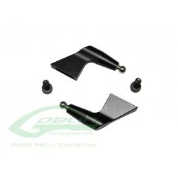 H0131BM-S - Aluminum Blade Grip Arm Black Matte - Goblin Black Nitro/Black Thund
