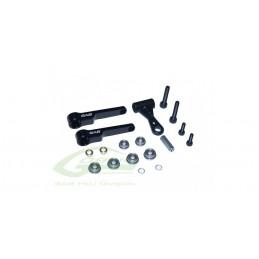 H0421-S - New Precision Design Radius Arm For HPS3 - Goblin 630/700/770/Co/Speed