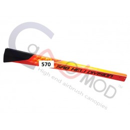 SBG-570-DRA02 - CANOMOD Dragon Carbon Fiber Tail Boom Goblin 570