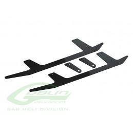 H0697-S - Carbon Fiber Landing Gear - Goblin Black Thunder
