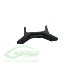 H0693-S - Aluminum Rear Landing Gear Support - Goblin Black Thunder