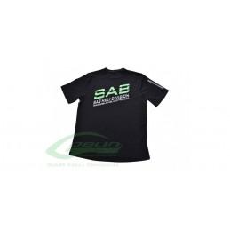 HM025-M - Tee-shirt noir SAB - TAILLE M
