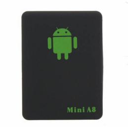 GPSMINIA8 - TRACKER GPS MINI A8 MULTI-FONCTIONNEL GSM / GPRS ( NOIR) - 78582