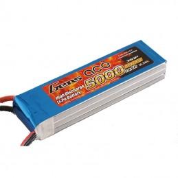 B-45C-5000-3S1P - Gens ace 5000mAh 11.1V 45C 3S1P lipo battery