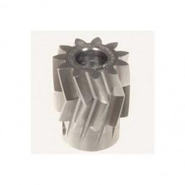 04411 - Pinion for herringbone gear 11teeth, M1, dia.6mm - LOGO 600 SE