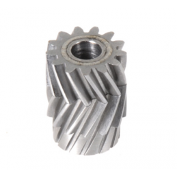 05010 - Pinion for herringbone gear 13 teeth 25°, M1, dia. 6mm - LOGO 700