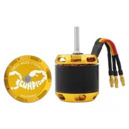 HKIII4025-1100KV - MOTEUR SCORPION HKIII 4025-1100KV - 04349