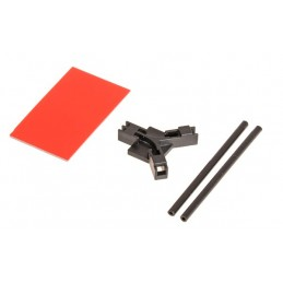 04953 - MIKADO Antenna support flat mounting, black