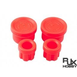 RJX1410 - RJX protection silicone manettes de contrôleur Rouge Mavic Pro/Phan3/4
