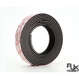 RJX1623 - RJX Velcro 1000x25mm pour montage intérieur / extérieur